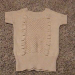 Girls shirt sleeve sweater